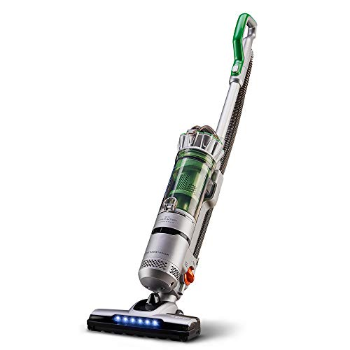 Simplicity AGOGO Cordless Vacuum Cleaner with Swivel Floor Nozzle | Crevice Tool and Dusting Brush Included | Bagless | Certified HEPA Filter | Hard Floor and Area Rugs | 2 Speeds