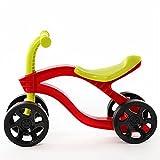 GDYJP 4 Ruedas para niños Push Scooter Balance Bicicleta Walker Scooter Bicicleta para niños Paseo al Aire Libre en Juguetes Autos Desgaste Resistente (Color : Red)