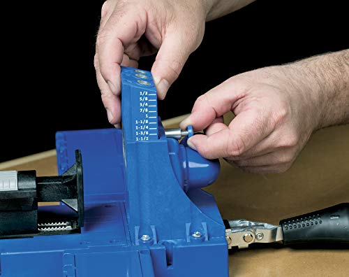 Kreg Jig K5 Master System with Pocket Hole Screw Kit (5-Sizes)