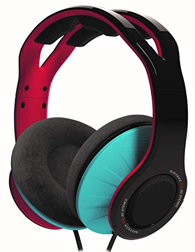Gioteck - Auricular Estereo con cable rojo y azul TX-30 Multiplataforma (Nintendo Switch)