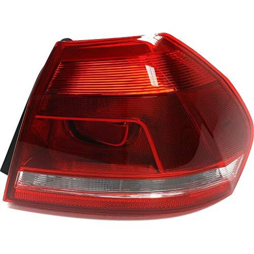 For 2012-2015 Volkswagen Passat Rear Tail Light Passenger Side VW2805108 - replaces 561-945-096H