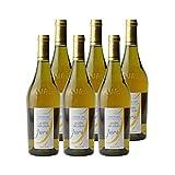 Macvin du Jura Blanc - La Côte des Loups - Vin AOC Blanc du Jura - Cépage Savagnin - Lot de 6x75cl