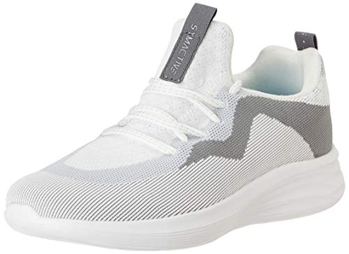 Amazon Brand - Symactive Women's White Running Shoe-5 UK (SYM-ET-016A)