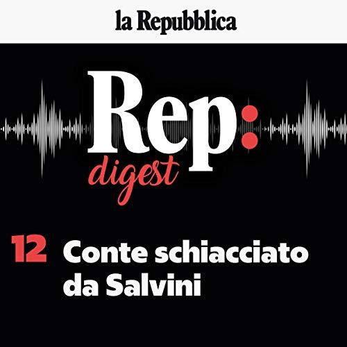 Conte schiacciato da Salvini audiobook cover art