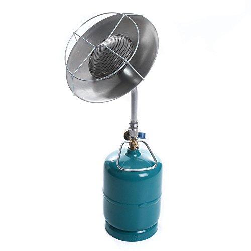 rg-vertrieb Gasheizstrahler Gasstrahler Gasheizung Heizstrahler Strahler Wärmestrahler 1,8 KW für Gasflasche