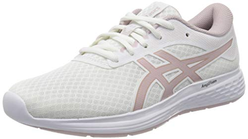 Asics Patriot 11, Running Shoe Mujer, Rosa Blanca/de Cuenca, 37 EU
