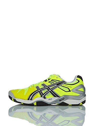 ASICS Limited Edition Gel-Resolution 5 Scarpa da Tennis Uomo, Giallo, 42.5