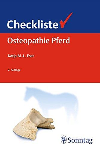 Checkliste Osteopathie Pferd