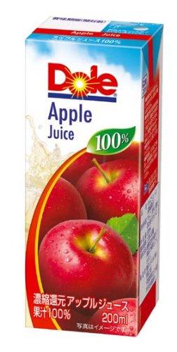 雪印メグミルク『Dole(ドール) アップル100%』