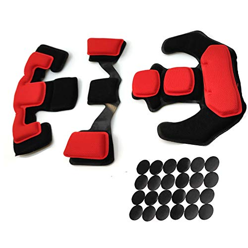 Airsoft Helmet Pads Set - Tactical Paintball Helmet Replacement Memory Foam Padding Kits for ACH Fast MICH MT IBH AF PASGT