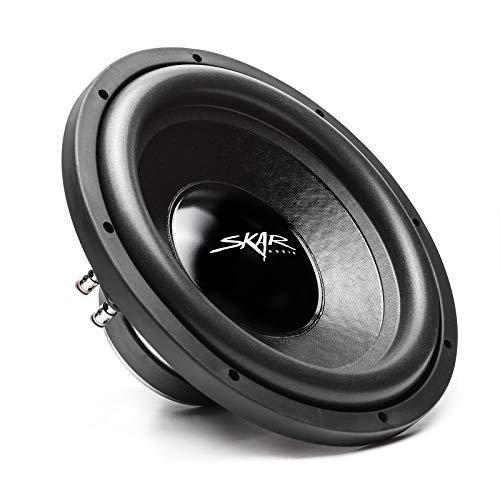 "Skar Audio IX-12 D4 12"" 500 Watt Max Power Dual 4 Ohm Car Subwoofer"
