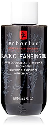 Erborian Detox Black Clean Oil Olio Struccante Purificante, 190ml
