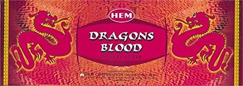 Encens Sang de Dragon – 20 g – Saum – Lot de 6 Boites