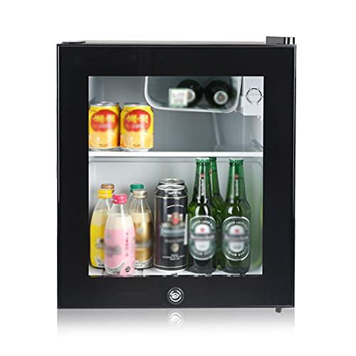 SHENXINCI Almacenamiento de Doble Zona Vinotecas 12 Botellas,85W Nevera de Vinos Refrigerador Bebidas, Capacidad de 46L,con Puerta de Cristal Y Pantalla LED,Rango de Temperatura: -3~10 ℃
