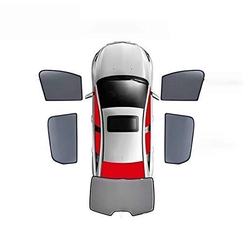 Para Hyundai Veloster Terraca Genesis Refine H1 2010 – 2015 Cortina magnética especial para ventana de cortina parasol de malla para coche, totalmente cubierto, color (5 piezas, tamaño: 2015)