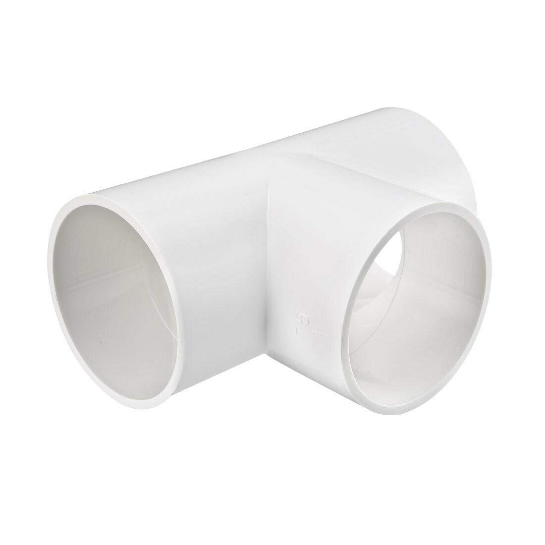 Pipe Attention brand Fittings Save money 75mm Slip Tee Fitting PVC T-Shaped C Coupling
