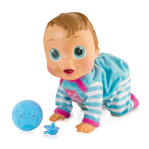 IMC Toys TEO Bebè, Bambola interattiva, Multicolore, 94727IMIT (Lingua Italiana)