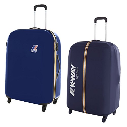 Borsa - K-way System Big Trolley - Navy-Royal - L