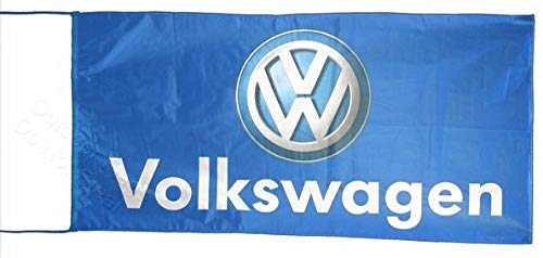Cyn Flags Volkswagen 3D Fahne Flagge 2.5x5 ft 150 x 75 cm