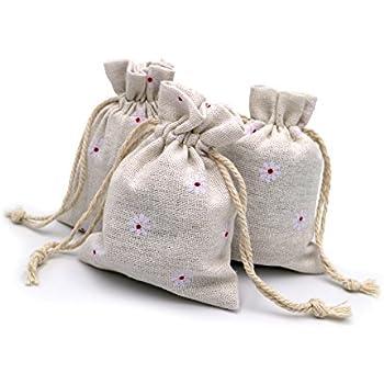 20 piezas Bolsas de Arpillera con cordón 12 x 9 cm Bolsas de Yute para Regalos Boda Favor Bolsa de Joyería: Amazon.es: Deportes y aire libre