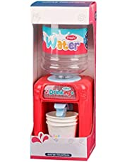 Outgeek Kitchen Playset Drinking Fountain Realistic Pretend Play Toy Kitchen Toy for Kid
