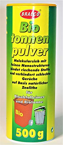 Braeco Biotonnenpulver -K&B Vertrieb- Mülleimer-Pulver Madenvernichter, gegen Maden Abfalltonne 205 (1 Dose)