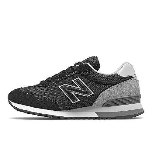 New Balance 515v3, Zapatillas Hombre, Negro (Black)