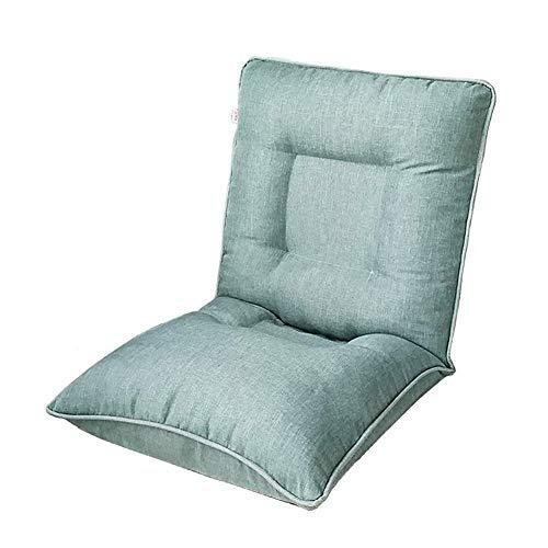 YHLZ Lazy Sofa, Boden Stuhl Folding Bodenlese Sofa, Stuhl, justierbare Moderne einfaches Spiel Freizeit faul Sofa Sitz, for TV/Meditation/Ruhe Zusehen