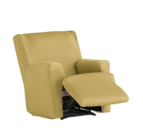 Eysa - Funda de sillón pies Juntos elástica Ulises - Color Mostaza