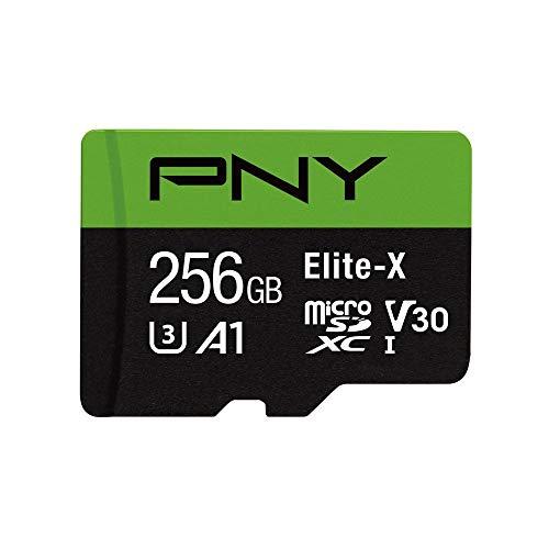 【Amazon.co.jp 限定】PNY microSDXCカード256GB A1 UHS-I(U3) V30 Class10対応 4K ULTRA HD対応 最大読出速度100MB/s 3年間保証