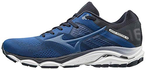 Mizuno Men's Wave Inspire 16 Road Running Shoe, True Blue, 11 D US