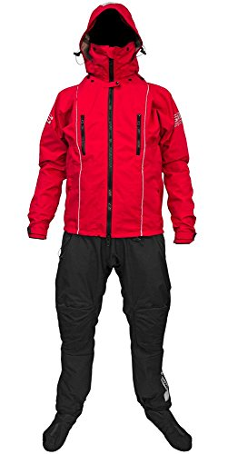 Ocean Rodeo Ignite 2.0 Breathable Drysuit, Small, Red (OR-8301-S)