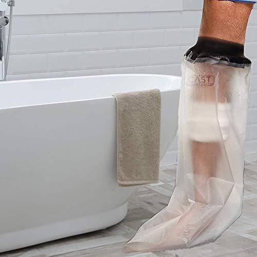 Lifeswonderful - Protector Impermeable Reutilizable para Cubrir el Yeso, Escayola o el Vendaje (Pierna Adulta, Media Longitud) 🔥