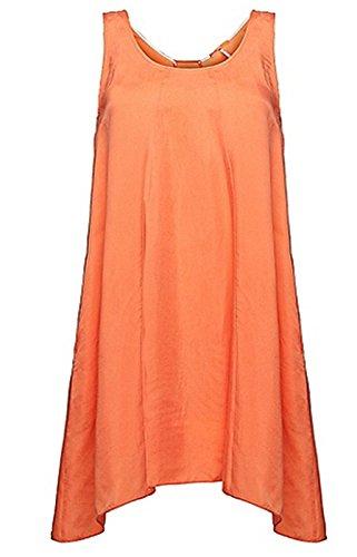BOSS Orange Damen Kleid Acupa, Midi, Gr. 36, Schwarz (Black 001)