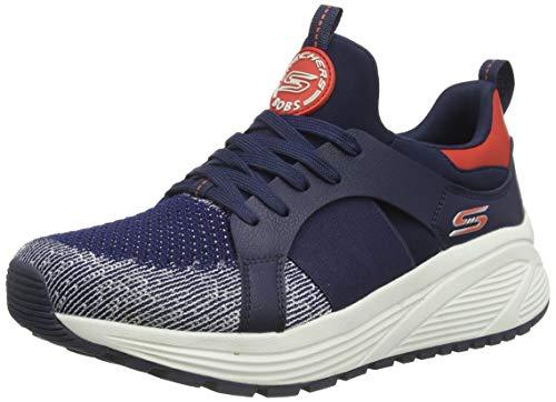 Skechers Bobs Sparrow 2.0-Metro Daisy, Zapatillas Mujer, Azul...