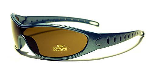 Rocket Sam Sportbrille Sonnenbrille, Unisex Kinder, Electric Blue, XS