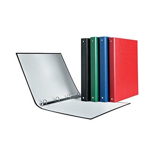 4x Herlitz Ringbuch / DIN A5 mit 4-Ringe / Farbe: je 1x rot, blau, grün, schwarz