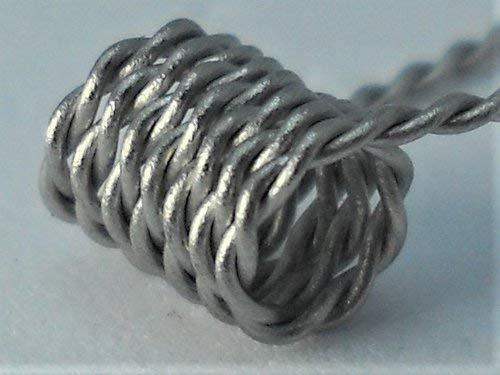 10 Twistet Coils für Selbstwickelverdampfer RDTA RTA RDA Handmade in Germany