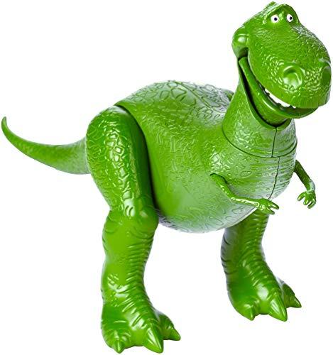 Disney Pixar Toy Story 4 Figurine Articulée Dinosaure Rex, Taille Fidèle au Film pour Rejouer les Scènes du Nouveau Film, Jouet pour Enfant, GGX35