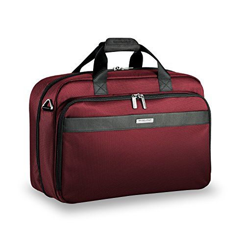 Briggs & Riley Transcend-Clamshell Cabin Bag, Merlot, One Size