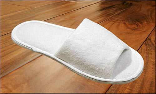 100 pièces Chaussons Pantoufle hôtel Slipper S9 - en tissu éponge avec semelle de 5 mm