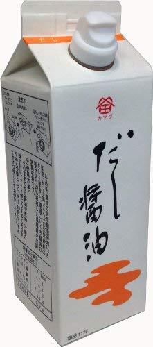 鎌田醤油 だし醤油 500ml 紙パック 1個