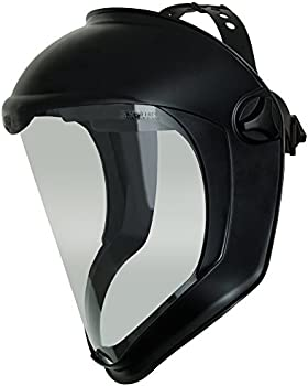 Uvex Bionic Face Shield with Clear Polycarbonate Visor & Anti-Fog/Hard Coat