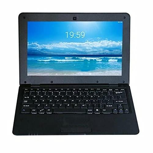 Gobutevphver Ordenador Netbook Acciones de 10 Pulgadas Quad-Core 3000Mah Batería S500 Ordenador portátil Netbook Ordenador portátil 1 + 8G Portátil portátil - Negro EU