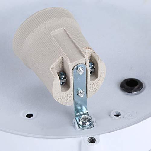 CUTULAMO Suministros para bañeras de hidromasaje Sauna Luz de Sala de Vapor, Lámpara de Sala de Vapor, para Sala de Vapor(Round Shape)