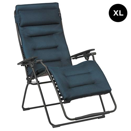 Lafuma Futura XL Be Comfort® Relaxliege Bleu Encre Titane Sonnenliege LFM3131.8900