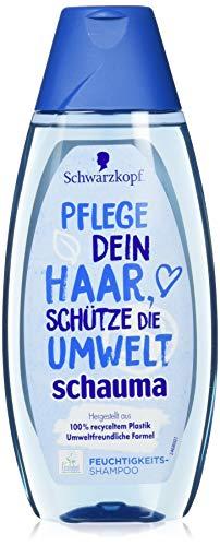 Schwarzkopf Schauma Shampoo Feuchtigkeit Love The Planet, 3er Pack (3 x 400 ml)