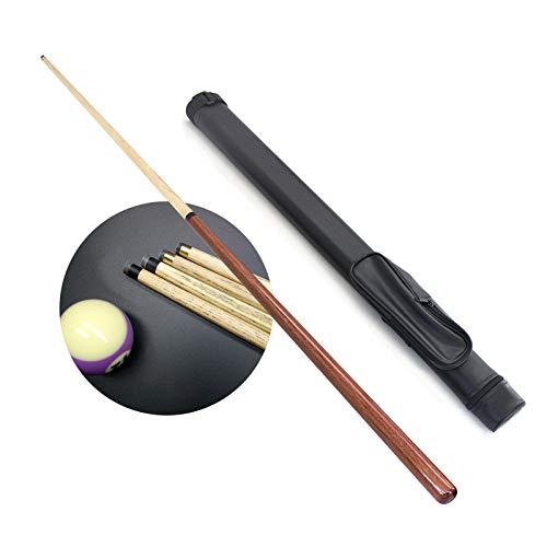 XYNH 1 pieza de 1/2 pequeños tacos de billar de arce de 52 pulgadas/130 cm, palo de billar profesional, peso 15 onzas, billar de madera dura para juegos y deportes expertos