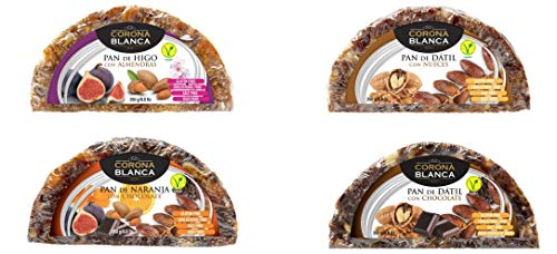 Panes De Frutas 250gr Pack (Higo,Datil,Naranja,Datil