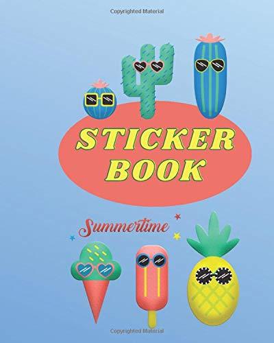 Sticker Book: Blank Sticker Journal